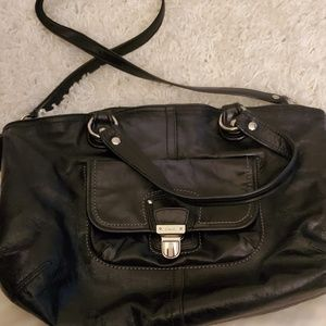 Coach Pop Leather Rocker Bag